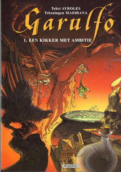 Garulfo 1 Een kikker met ambitie