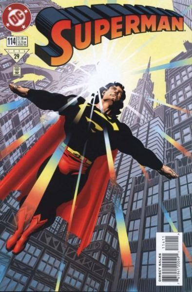 superman temp - te verplaatsen naar hoofdreeks A114 Identity Crisis, Part 4: Worldwide Web