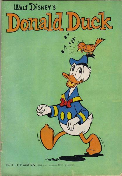 Donald Duck weekblad - 1972 (jaargang 21) 15 Nummer 15