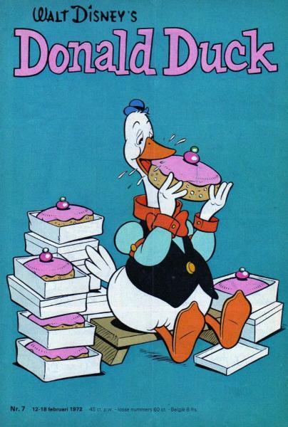 Donald Duck weekblad - 1972 (jaargang 21) 7 Nummer 7