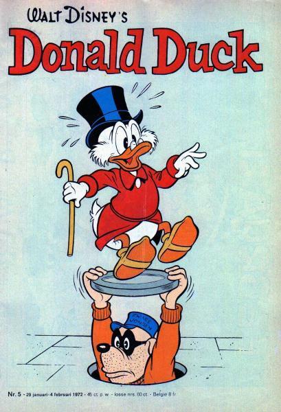 Donald Duck weekblad - 1972 (jaargang 21) 5 Nummer 5