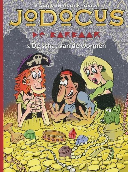 Jodocus de barbaar (Syndikaat/Strip 2000) 5 De schat van de wormen
