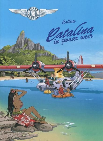 Gilles Durance 2 Catalina in zwaar weer