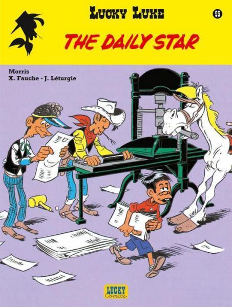 Lucky Luke (Lucky Comics, hernummering) 55 The Daily Star