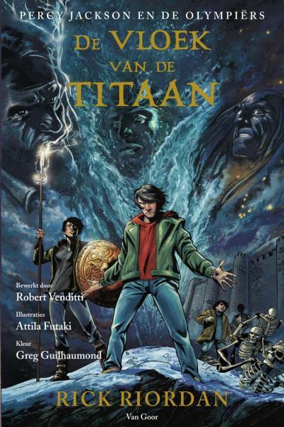 Percy Jackson 3 De vloek van de titaan