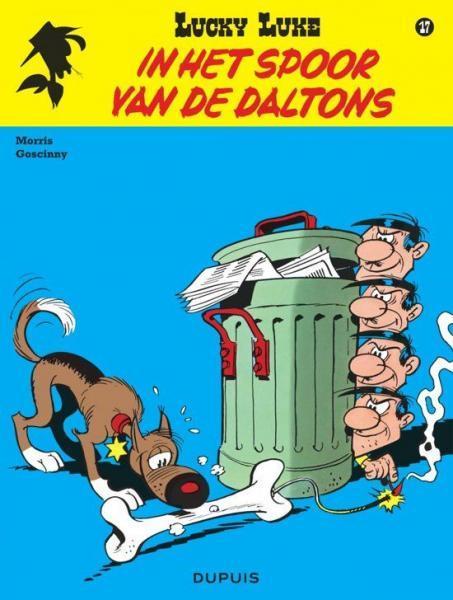 Lucky Luke (Nieuw uiterlijk - Dupuis/Lucky Comics) 17 In het spoor van de Daltons