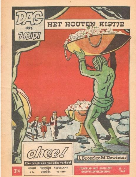 Dag en Heidi (Ohee) 8 Het houten kistje