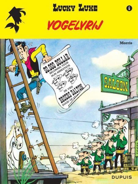 Lucky Luke (Lucky Comics, hernummering) 6 Vogelvrij