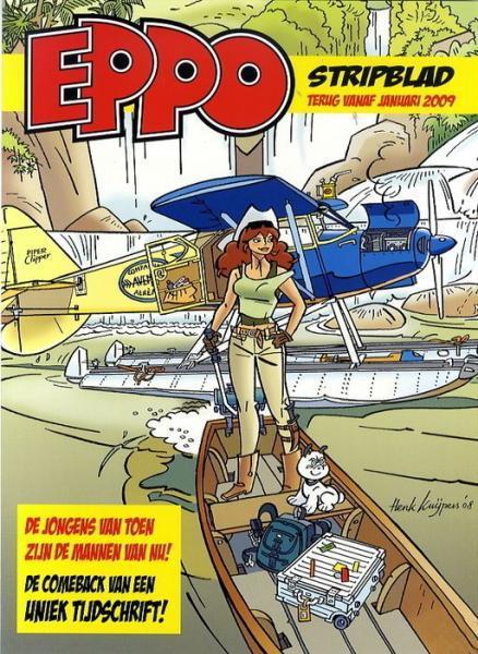 Eppo - Stripblad 2009 (Jaargang 1) 1 Nummer 1