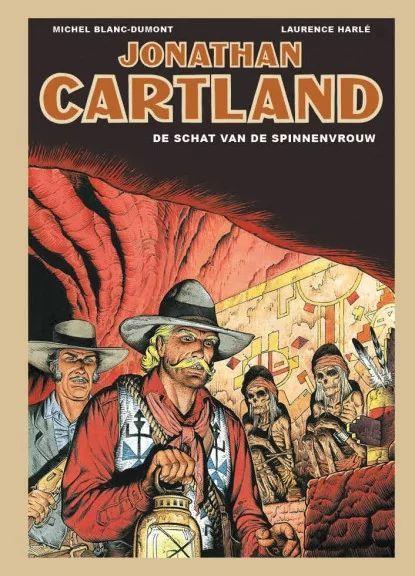 Jonathan Cartland (Sherpa) 4 De schat van de spinne-vrouw