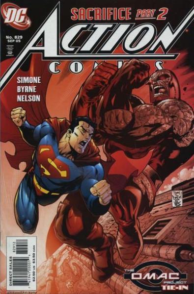 Action Comics 829 Sacrifice, Part 2: End of Identity