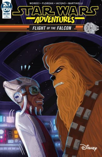 Star Wars Adventures: Flight of the Falcon 1 Star Wars Adventures: Flight of the Falcon