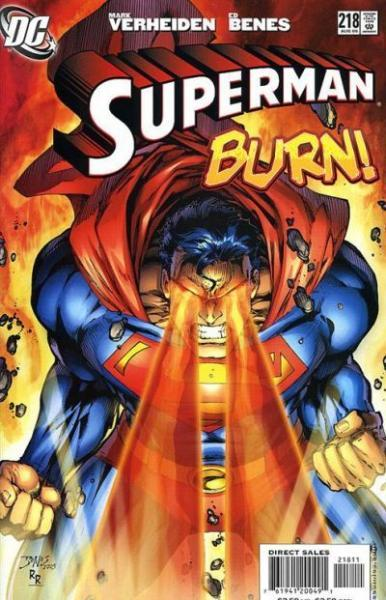 superman temp - te verplaatsen naar hoofdreeks A218 Sacrifice, Part 1: Power