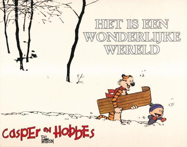 Casper en Hobbes 11 Het is een wonderlijke wereld