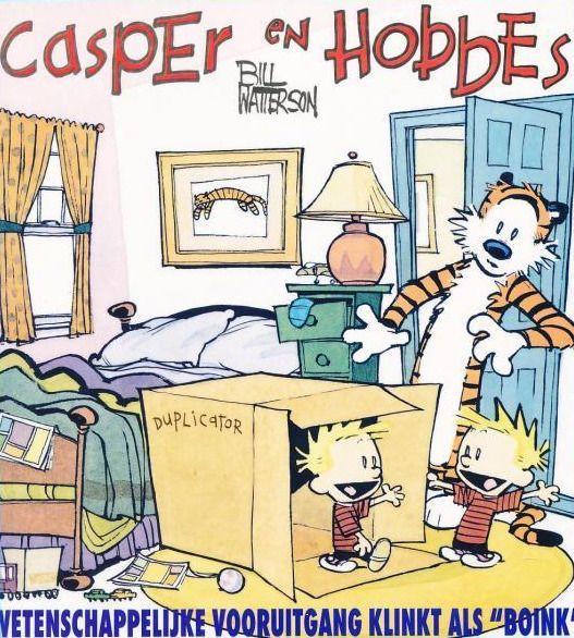 """Casper en Hobbes 6 Wetenschappelijke vooruitgang klinkt als """"boink"""""""