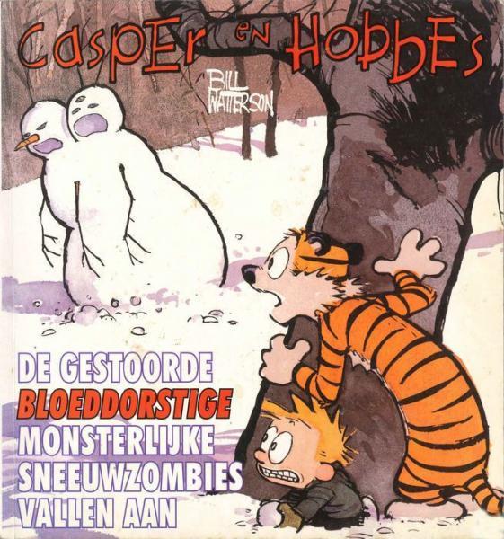 Casper en Hobbes 7 De gestoorde bloeddorstige monsterlijke sneeuwzombies vallen aan