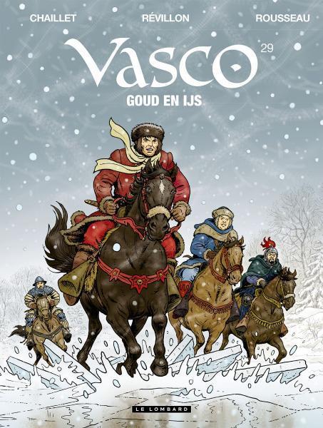 Vasco (Nederlands) 29 Goud en ijs