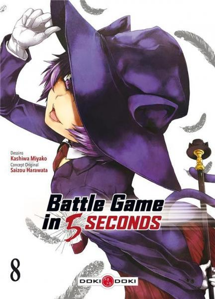 Battle Game in 5 Seconds 8 Tome 8
