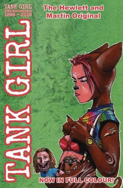 Tank Girl Full Colour Classics 4 Issue #4