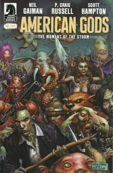 American Gods: The Moment of the Storm 6 Issue #6