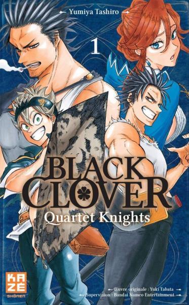 Black Clover - Quartet Knights 1 Tome 1
