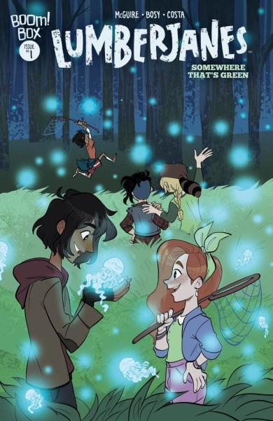 Lumberjanes: Somewhere Thats Green 1 Lumberjanes: Somewhere Thats Green