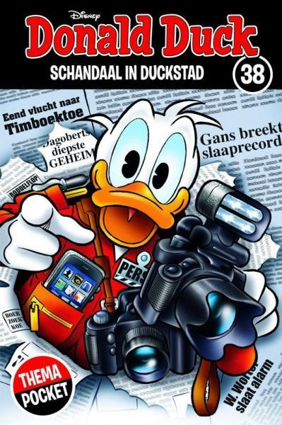 Donald Duck dubbelpocket extra 38 Schandaal in Duckstad