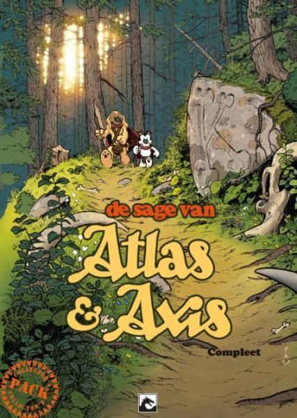 De sage van Atlas & Axis INT 1 Compleet