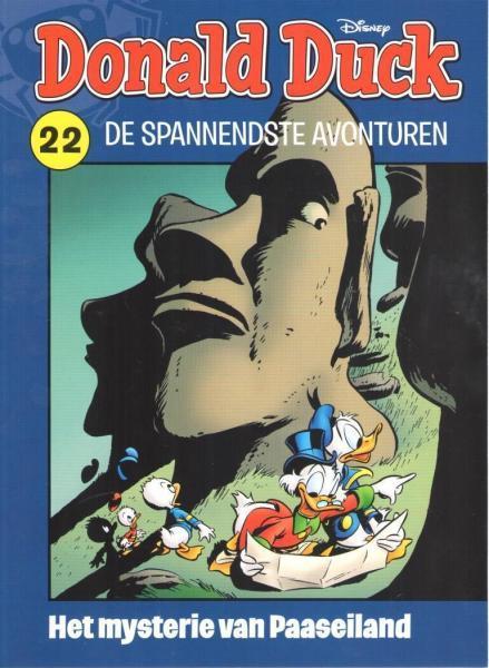 Donald Duck: De spannendste avonturen 22 Het mysterie van Paaseiland
