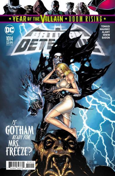 Detective Comics B1014 Cold Dark World: Awake!