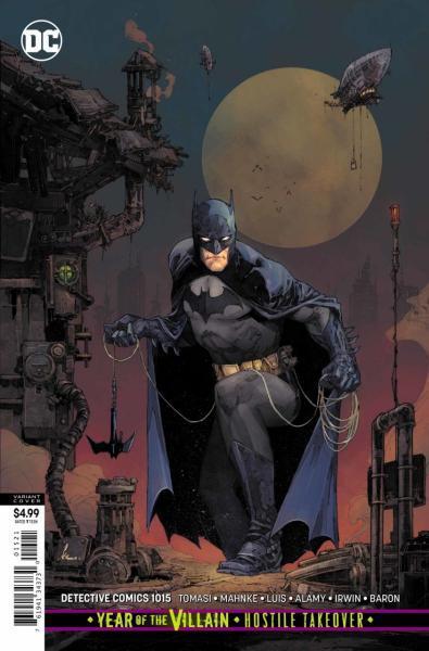 Detective Comics B1015 Cold Dark World: Icebreaker