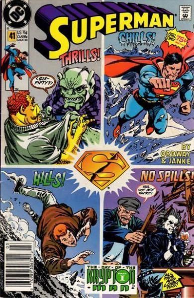 Superman A41 The Day of the Krypton Man, Part 1: The Nature of the Beast