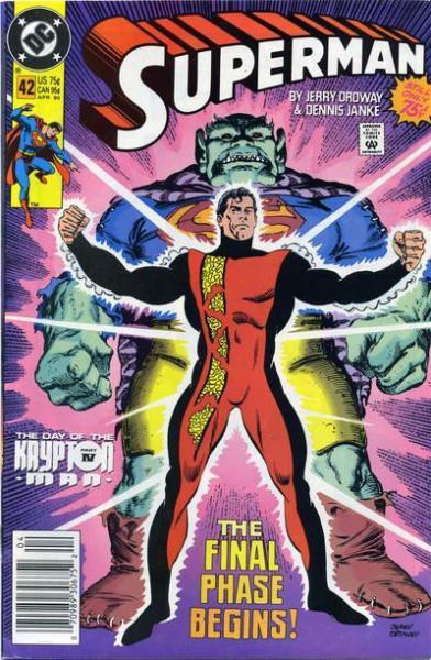 Superman A42 The Day of the Krypton Man, Part 4: Krypton Man