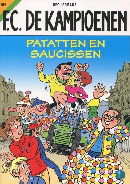 F.C. De Kampioenen 105 Patatten en saucissen