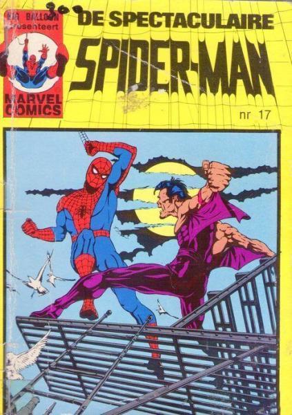 De spectaculaire Spider-Man (Oberon pocket) 17 Nummer 17