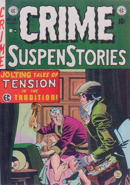 Crime Suspenstories (EC/L. L. Publishing) 14 Issue #14