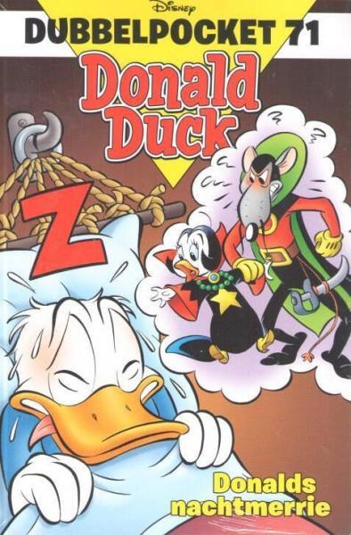 Donald Duck dubbel pocket 71 Donalds nachtmerrie