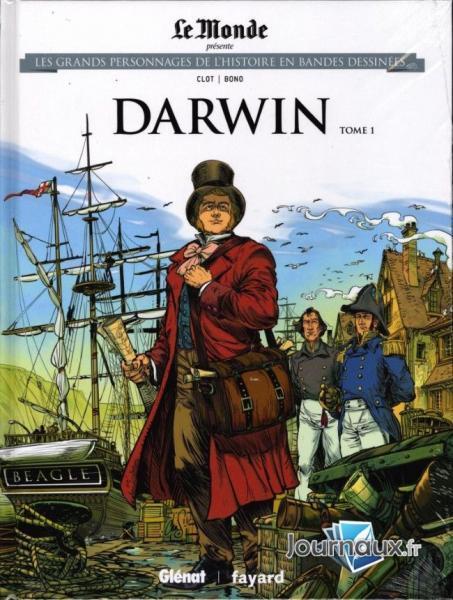 Les grands personnages de l'histoire en bandes dessinées 27 Darwin, tome 1