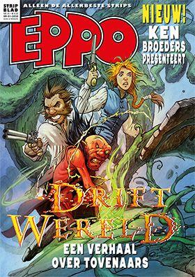 Eppo - Stripblad 2020 (Jaargang 12) 1 Nummer 1