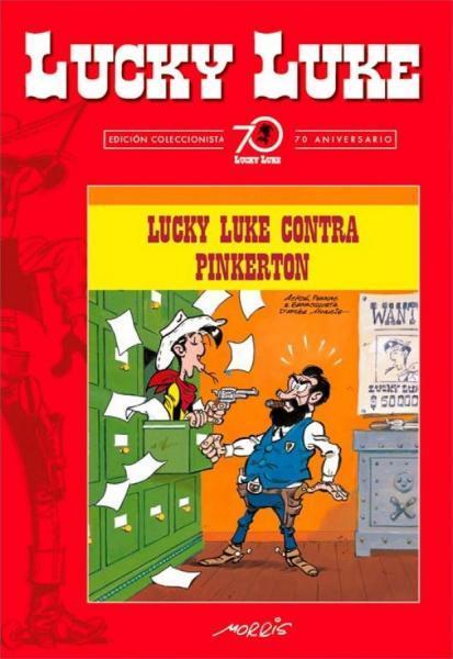 Lucky Luke (Lucky Comics) 4 Lucky Luke contra Pinkerton