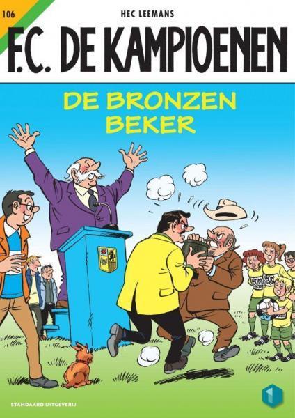 F.C. De Kampioenen 106 De bronzen beker