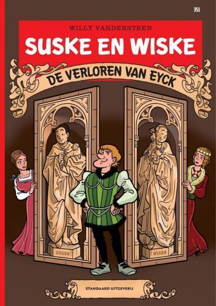 Suske en Wiske 351 De verloren Van Eyck