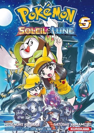 Pokémon - Soleil et lune 5 Tome 5