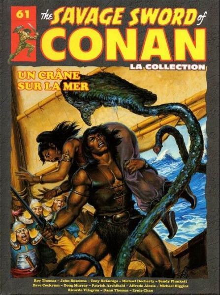 The savage sword of Conan - La collection (Hachette) 61 Un crâne sur la mer