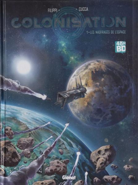 Kolonisatie 1 Les naufragés de l'espace