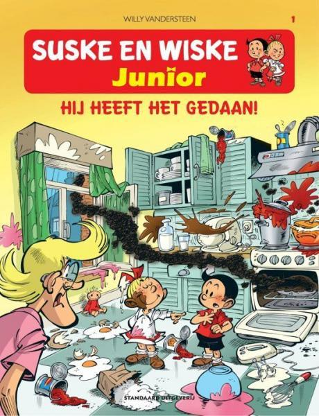 Suske en Wiske junior 1 Hij heeft het gedaan!