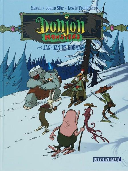 Donjon monsters 1 Jan-Jan de Boeman