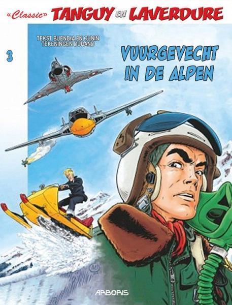 Tanguy en Laverdure - Classic 3 Vuurgevecht in de Alpen