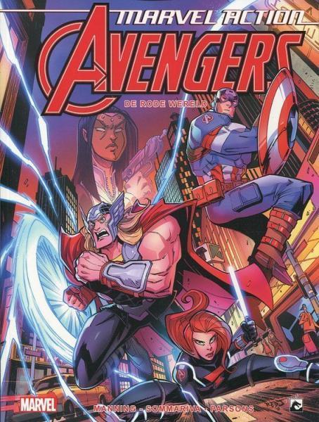 Marvel Action Avengers 2 De rode wereld