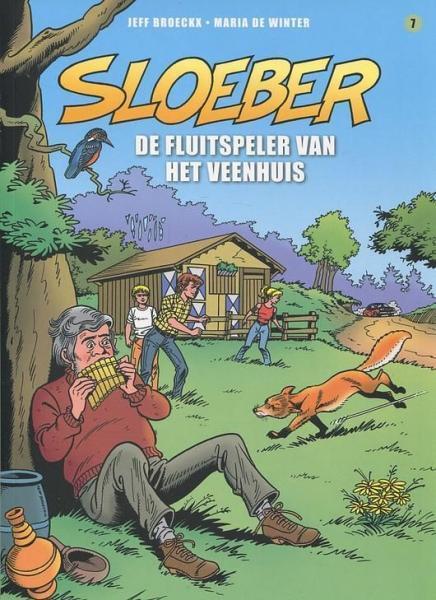 Sloeber (Saga) A7 De fluitspeler van het veenhuis